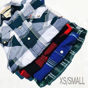 Plaid Tops | Bundle of 4 | XS and Small